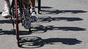 Participantes en el Tour de Francia. (Foto: D. Faget   AFP).