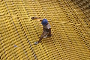 Un trabajador de la construcción en China. (Foto: Stringer | Reuters)