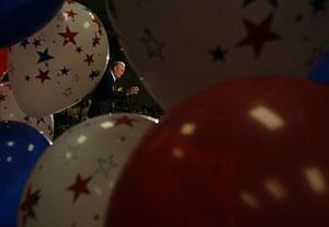 Acto de campaña de Fred Thompson, uno de los candidatos republicanos. (Foto: REUTERS)