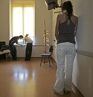 Unidad de anorexia y bulimia en un hospital español (Foto: Ricardo Cases)