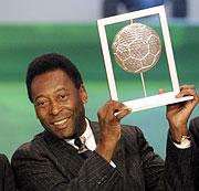 El mítico jugador de fútbol, Pelé. (Foto: AFP)