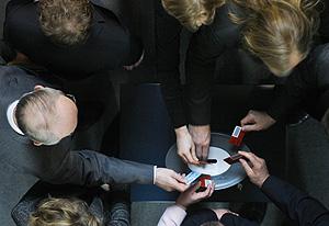 Varios disputados alemanes emiten su voto (AP | Markus Schreiber)