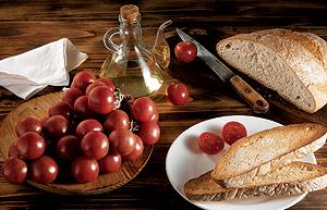 Hortalizas y aceite de oliva, base de la dieta mediterránea. (Foto: EL MUNDO)