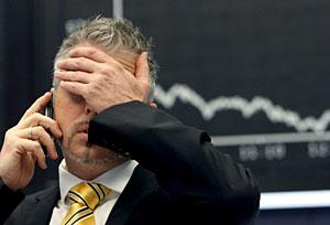 La crisis del mercado financiero podría aumentar los sentimientos de desesperación. (Foto: Frank Rumpenhorst)