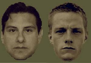 Ejemplo de caras como las utilizadas en la investigación