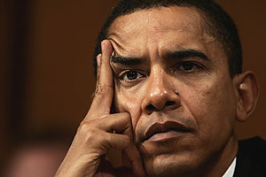 Barack Obama, durante una reunión en Washington. (Foto: AP)