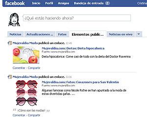 Perfil de un usuario en Facebook (Foto: El Mundo)