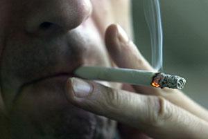 El envejecimiento prematuro por el tabaco se hace más evidente en la cara. (Foto: Iñaki Andrés)