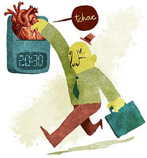 El grado de responsabilidad en el trabajo influye en el estrés. (Foto: Puño)