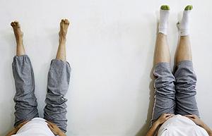 Dos mujeres en una clase de preparación al parto (Foto: Reuters | Susana Vera )