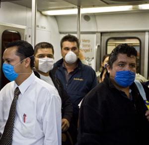 Ciudadanos en el metro de México. (Foto: AFP)