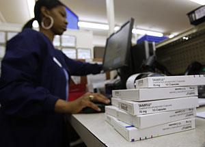 Cajas de Tamiflú en una farmacia de Dallas. (Foto: Reuters   J. Rinaldi )