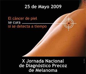 Imagen de la campaña Euromelanoma 2009. (Foto: Pierre-Fabre)