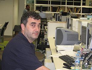 José Ramón realiza ahora sus prácticas en la sección de salud de El Mundo.