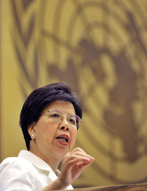 Margaret Chan, en una comparecencia reciente. (Foto; Efe)