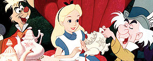 Imagen de la película 'Alicia en el País de las Maravillas', de Disney (Foto: El Mundo)