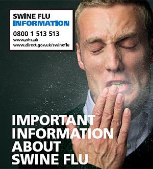 Imagen de la campaña informativa sobre la gripe A en el Reino Unido. (Foto: NHS)