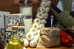 Productos de la dieta mediterránea. (Foto: Rudy)