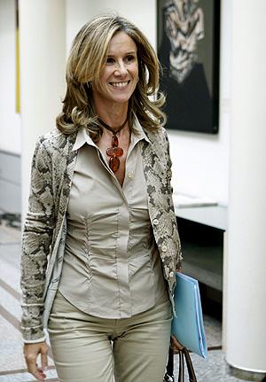 La ministra de Ciencia, Cristina Garmendia (Foto: EFE | Chema Moya)