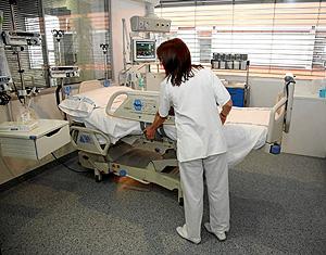 Una UCI de un hospital español (Foto: ICAL)