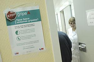 Comienza la campaña de vacunación contra la gripe A. (Foto: Oscar Monzón)