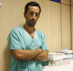El doctor Pedro Cavadas. (Foto: B. Pajares)