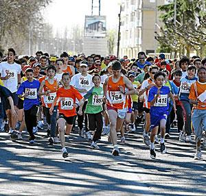 Media Maratón de León. (Foto: LAFOTOTEKA)