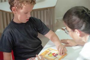 Colegio de niños autistas. (Foto: Ángel Casaña)