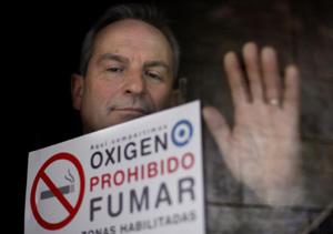 Rodrigo Cordoba, portavoz del Comite Nacional de Prevencion del Tabaquismo. (Foto: Alberto Di Lolli)