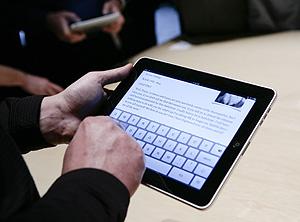 Éste es el aspecto del nuevo 'gadget' de Apple (Foto: AFP | Ryan Anson)