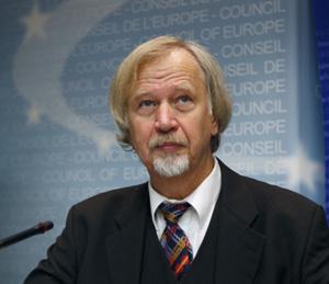 Wolfang Wodarg, presidente de la Comisión de Salud del Consejo de Europa.