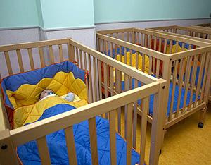 Cunas en un centro infantil (Foto: EFE   Mariam A. Montesinos)