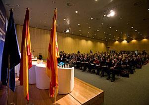 Un momento de la conferencia celebrada en Barcelona. (Foto: James Wardell)