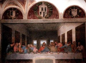 'La Última Cena', de Leonardo da Vinci. (Foto: AP)