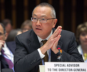 Keiji Fukuda, asesor especial para gripe de la OMS. (Foto: Chris Black | AFP)