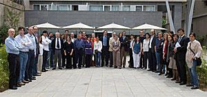 Parte de los integrantes del grupo español del consorcio.