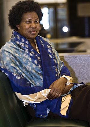 Lucy Chesire, en el Congreso de los Diputados. (Foto: Catalá&Espada)