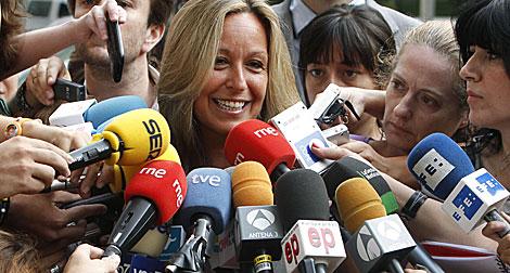 La expectación era máxima para conocer la decisión de Jiménez.| EFE