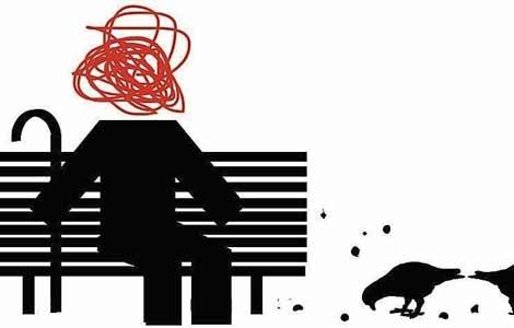 Ilustración sobre demencia | Luis Parejo