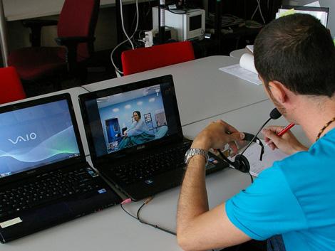 Videoconferencia entre el doctor y la paciente. | Foto: Universidad MacGill
