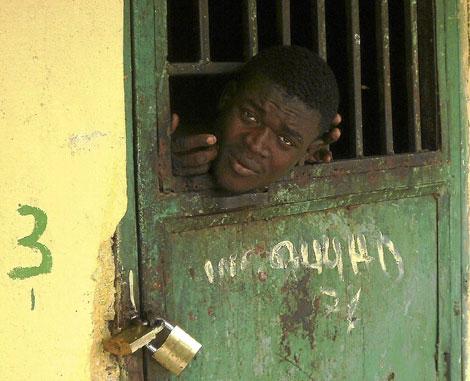 Un paciente de un centro psiquiátrico de Haití.| Jacobo García