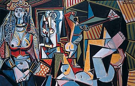 'Las mujeres de Argel', de Pablo Picasso. | Foto: El Mundo