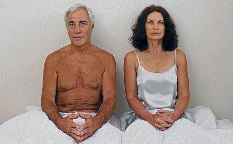 Una pareja con problemas en la cama.| Corbis