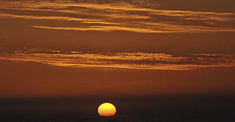 Frío amanecer otoñal en la Selva Negra (Alemania) | Foto: Efe