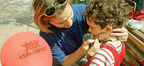 Fiesta infantil de una asociación oncológica | Mitxi