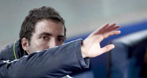 El jugador Higuaín. | El Mundo.