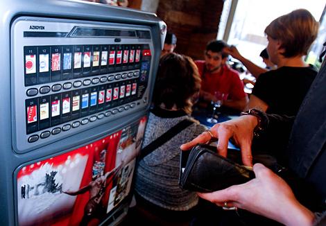 Máquina expendedora de tabaco. | Justy Garcia