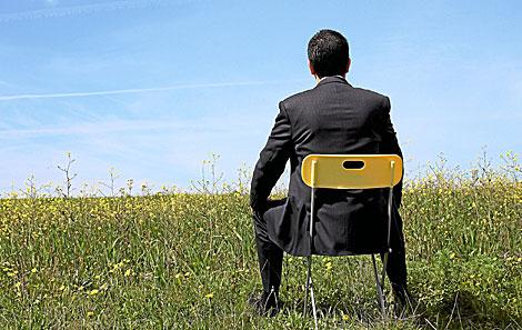 No olvide 'despegarse' de su silla de vez en cuando. | El Mundo