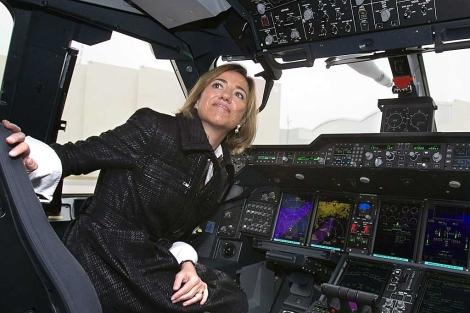 La ministra durante un acto reciente.| Reuters | Jose Manuel Vidal