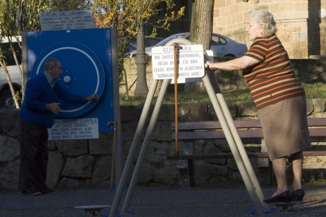 Un parque para la Tercera Edad.   Mitxi